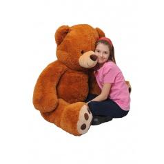 Mac Toys Medvěd 135 cm čokoládový