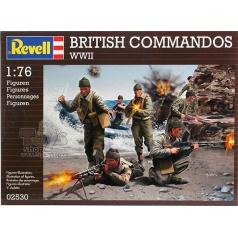 Revell Plastové figurky 02530 - BRITISH COMMANDOS WWII (1:76)