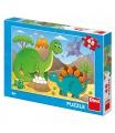 Dino dětské puzzle Dinosauři 48D