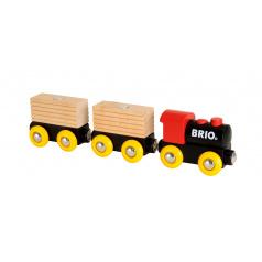BRIO 33409 Vláček se 2 vagonky