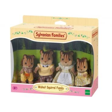 Sylvanian Families 4172 Rodina hnědých veverek