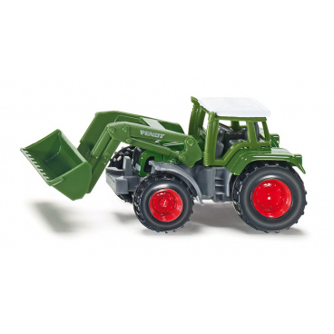SIKU Blister - Traktor Fendt s čelním nakladačem