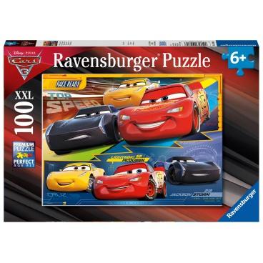 Ravensburger dětské puzzle Disney Auta 3 100 dílků