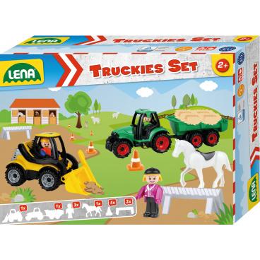 Lena Truckies Set farma, okrasný kartón