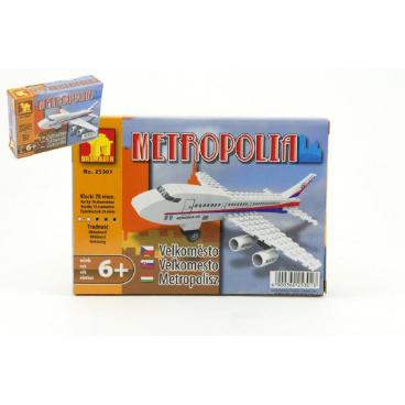 Dromader 25301 Letadlo 78ks v krabici 18,5x13x4,5cm