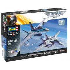Revell Gift-Set letadlo 05677 - Top Gun 2 Movie Set (1:72)