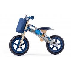 Woody 93065 Odrážedlo motorka, modrá