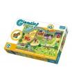 Trefl Puzzle zvířátka Gigantic Venkov 12ks v krabici 40x27x6cm 2+