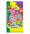 SES Zažehlovací korálky, dívčí mix 3 000ks