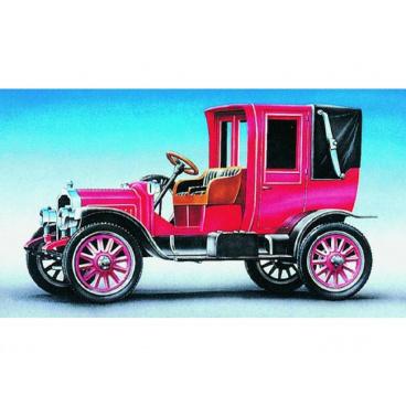 Směr Model Packard Landaulet 1912 12,7x5,8cm v krabici 25x14,5x4,5cm