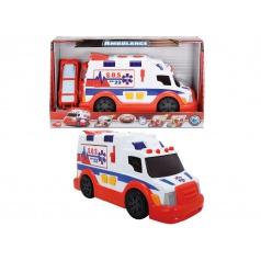 DICKIE Ambulance 33cm, světlo, zvuk