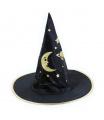 Rappa Dětský klobouk Čaroděj Halloween