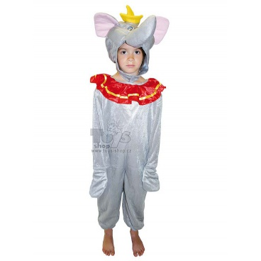 dětský karnevalový kostým slon