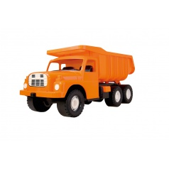 Dino Auto nákladní dětská plastová Tatrovka Tatra 148 na písek oranžová 73cm