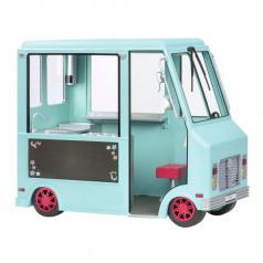 Our Generation Pojízdný obchod se zmrzlinou pro panenky 46cm