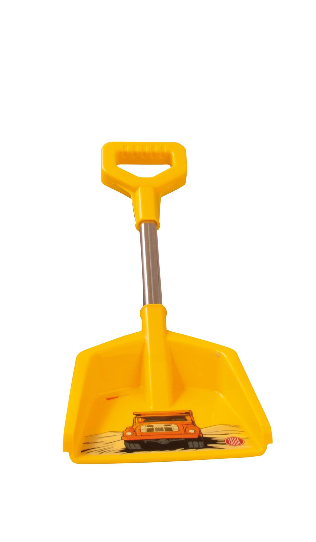 Lopatka do písku tatra žlutá