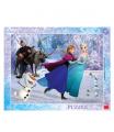 Dino dětské  puzzle WD Frozen: Na bruslíchÍCH 40D