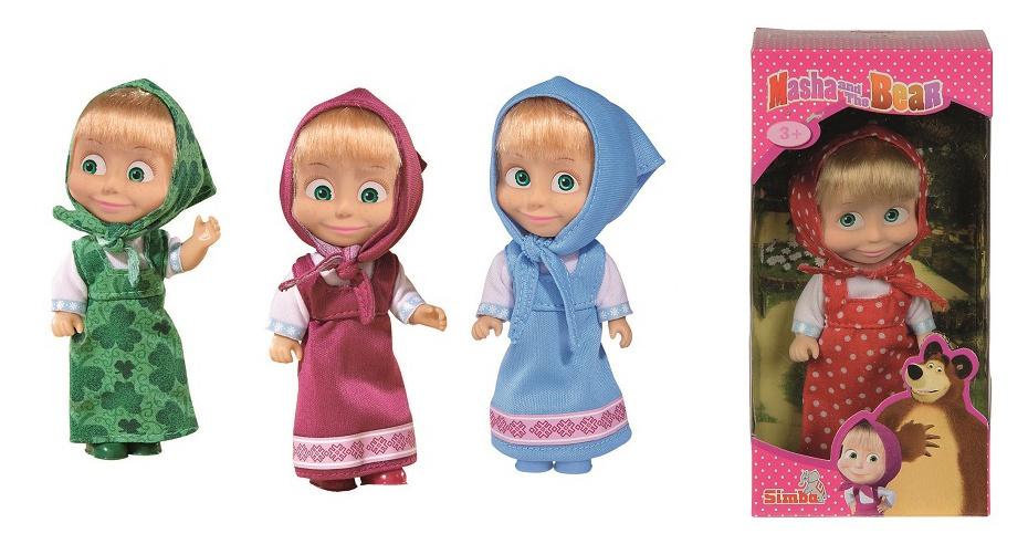 Simba Máša a Medvěd panenka Máša
