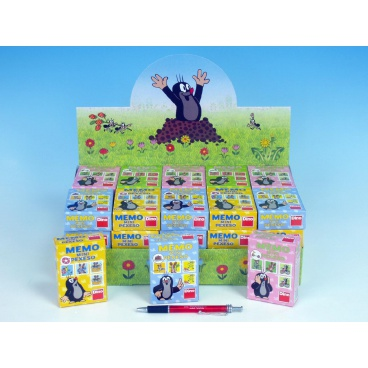 Dino Minipexeso Krtek 6,5x9cm společenská hra v papírové krabičce