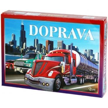 Hydrodata RAPPA hračky Doprava společenská hra v krabici 29x20x4cm