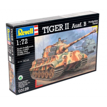 Revell Plastic ModelKit tank 03129 - Tiger II Ausf. B (1:72)