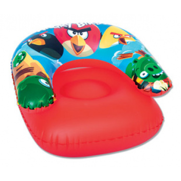 Bestway Nafukovací křeslo - Angry Birds, 76x76 cm