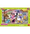 Dino dětské puzzle Disney Minnie na Monmartu 15D