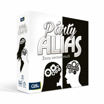 Albi Párty alias Ženy versus muži - společenská hra