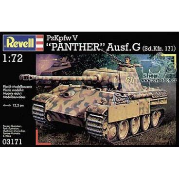 Revell 03171 model tanku Kpfw. V Panther Ausg. G 1:72