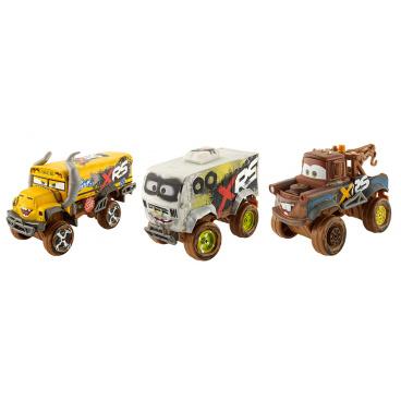 Mattel CARS XRS ODPRUŽENÝ VELKÝ ZÁVOĎÁK ASST