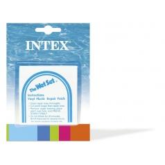 Intex Záplata samolepiace opravná sada k nafukovačkám 6ks na karte 12x16cm