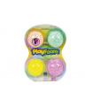 PEXI PlayFoam Modelína/Plastelína kuličková 4 barvy na kartě 19,5x27x3cm