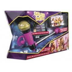 ADC Blackfire Selfie mikrofon růžový, karaoke mikrofon