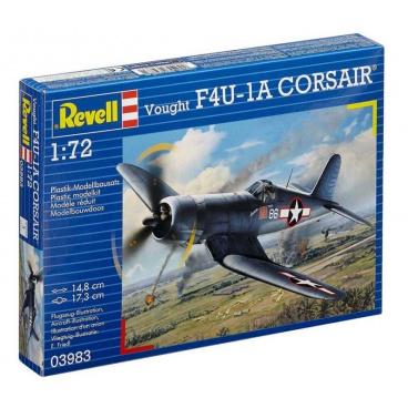 Revell Plastic ModelKit letadlo 03983 - F4U-1A Corsair (1:72)