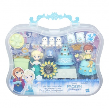 Hasbro B5191 Disney Frozen malé panenky SMALL DOLL STORY PACK assort