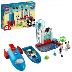 LEGO Disney 10774 Myšák Mickey a Myška Minnie jako kosmonauti