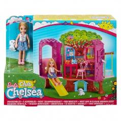 Mattel Barbie CHELSEA A DOMEČEK NA STROMĚ