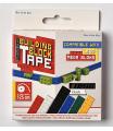 Lepící páska na stavebnice typu Lego- červená