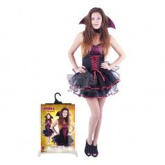 Karnevalový kostým upírka sexy dospělý vel. M