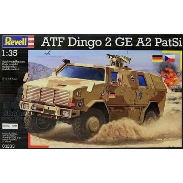 Revell model 03233 ATF Dingo 2 GE A2 PatSi 1:35