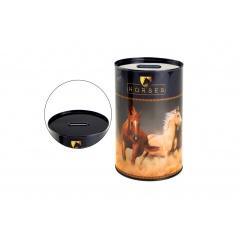 Pokladnička plech kůň 10x15cm v sáčku