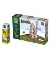Trefl Pack Stavějte z cihel Větrný mlýn stavebnice Brick Trick + lepidlo grátis v krabici 35x25x7cm
