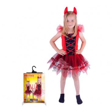 Dětský kostým čertice vel. M