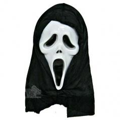 maska na obličej duch vřískot