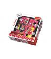 Trefl Puzzle 4v1 Minnie Disney v krabici 28x28x6cm
