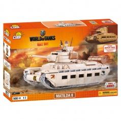 COBI 3011 World Of Tanks stavebnice tanku WOT Matilda 500 k, 1 f