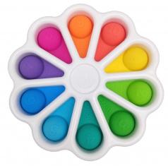 Rappa POP IT Simple Dimple - senzomotorická hračka květina