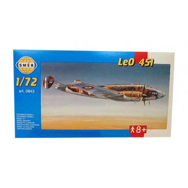 Směr modely plastové LEO 451                   1:72