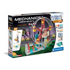 Clementoni Mechanická laboratoř - Lunapark, 50 modelů, 250 dílků