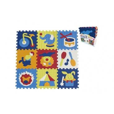SMT Creatoys Penové puzzle cirkus 9ks 32x32x1cm